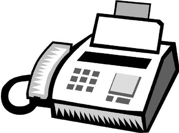 fax clipart-fax clipart-0