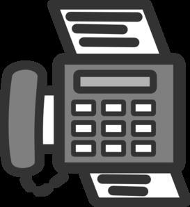 Fax Clip Art-Fax Clip Art-11