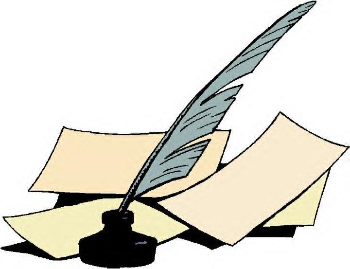 feather pen clipart-feather pen clipart-15