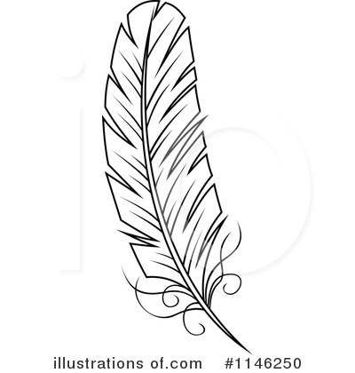 Feather Clipart 1146250 By Seamartini Graphics Royalty Free Rf