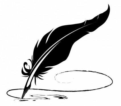Feather Pen Free Vector In Adobe Illustrator Ai Ai Encapsulated