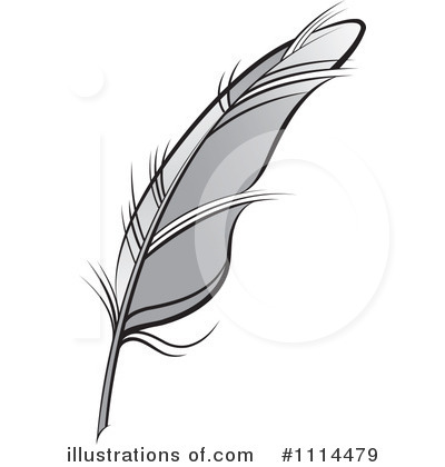 Feather Quill Clipart #1114479 - Illustr-Feather Quill Clipart #1114479 - Illustration by Lal Perera-4