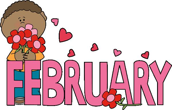 February Clip Art Free
