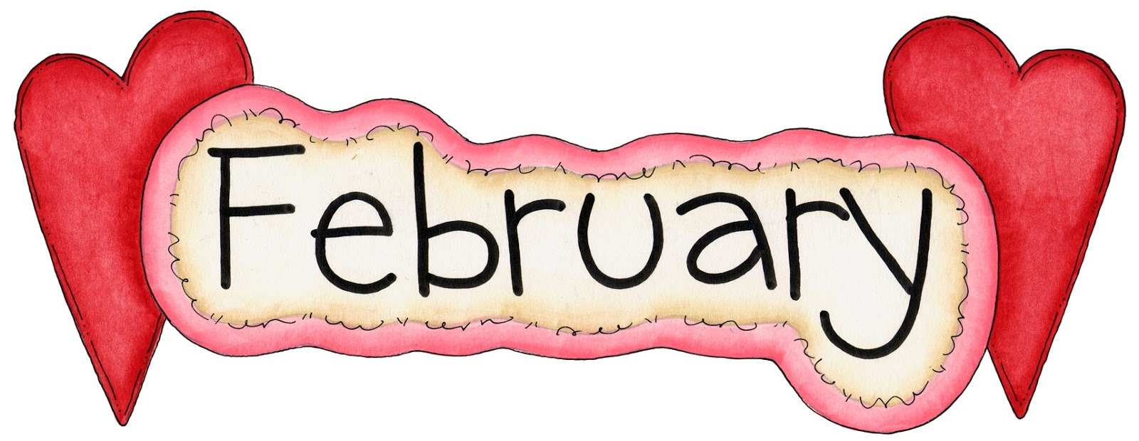 February clip art images .