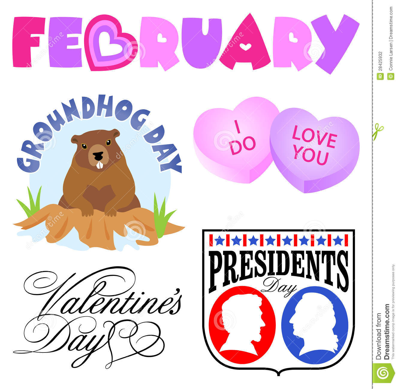 February Newsletter Clipart T