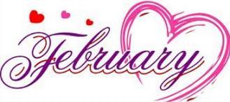 February - February Free Clip Art