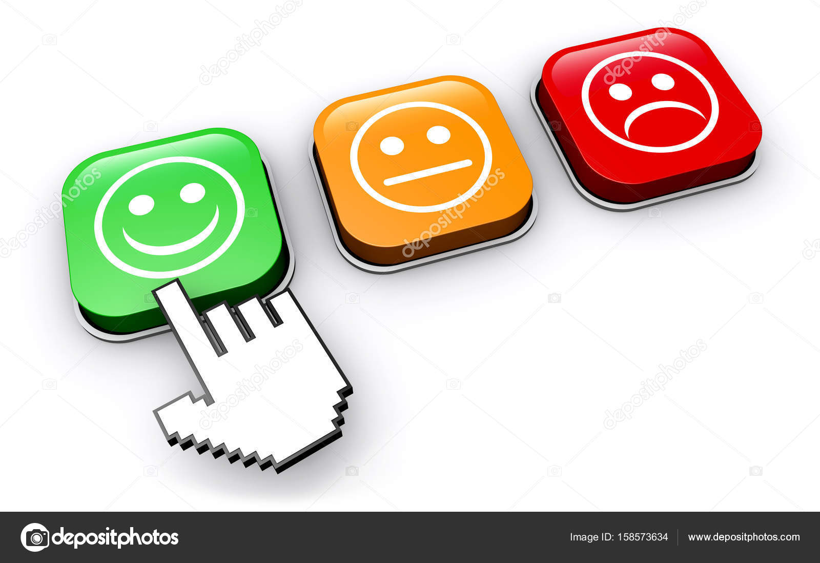Business Quality Control Feedback Button-Business Quality Control Feedback Button u2014 Stock Photo-0