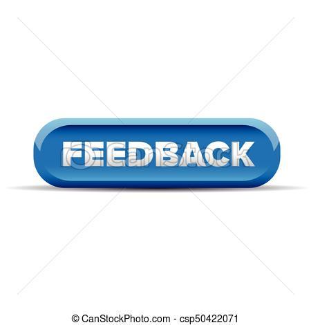 Feedback Button Blue Vector-Feedback Button Blue Vector-7
