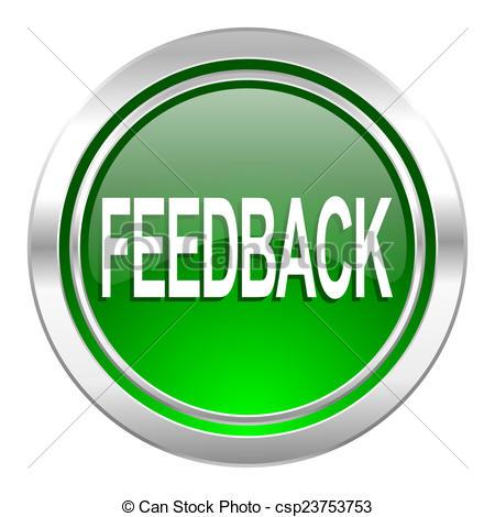 Feedback Icon, Green Button - Csp2375375-feedback icon, green button - csp23753753-16