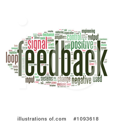 Royalty-Free (RF) Feedback Clipart Illustration #1093618 by MacX
