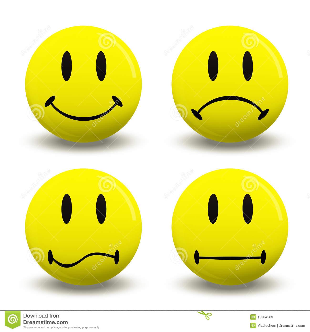 Feelings Faces Clip Art