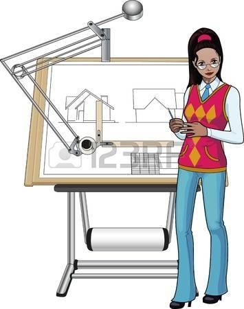 Female architect clipart - ClipartFest