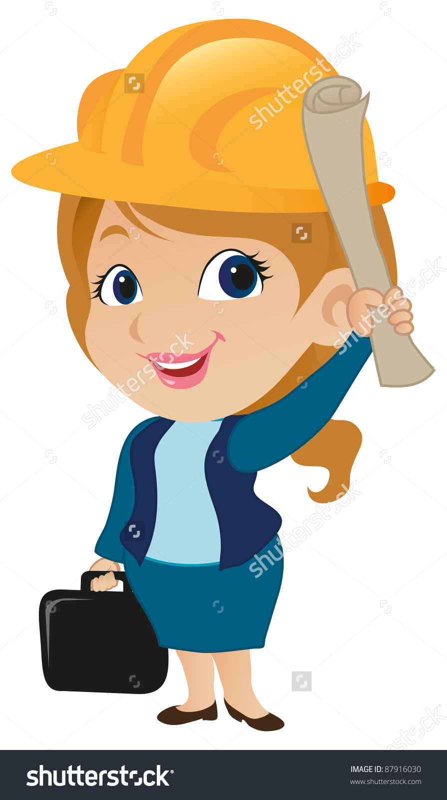 Female Architect Clipart. Save to a lightbox