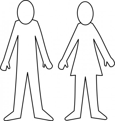 Female Body Outline Template Clipart Bes-Female Body Outline Template Clipart Best-15
