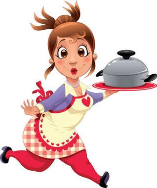 Female Chef Clip Art