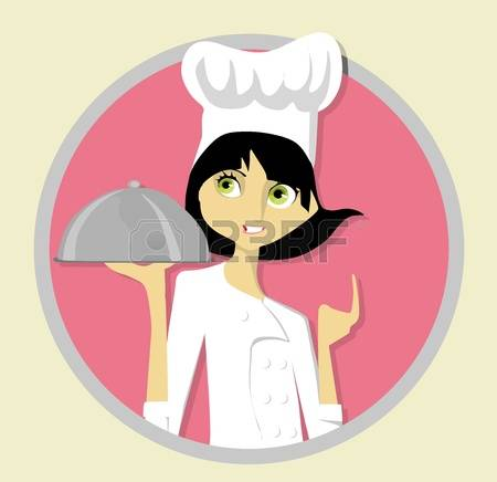 female chef: Young Chef