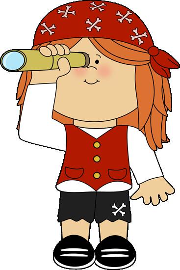 Female Pirate Clipart