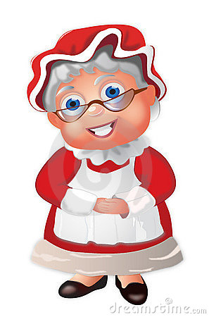 Female Santa Claus Stock .-Female Santa Claus Stock .-6