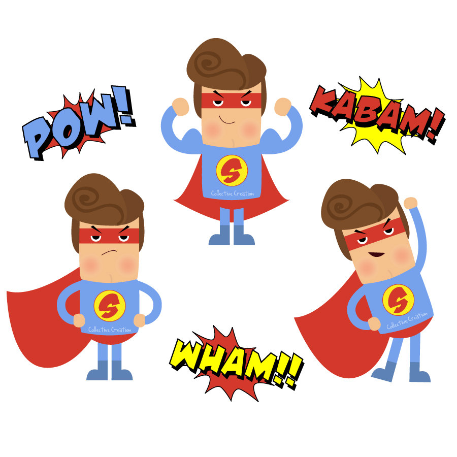 Female superhero clipart clipart clipartcow clipartall