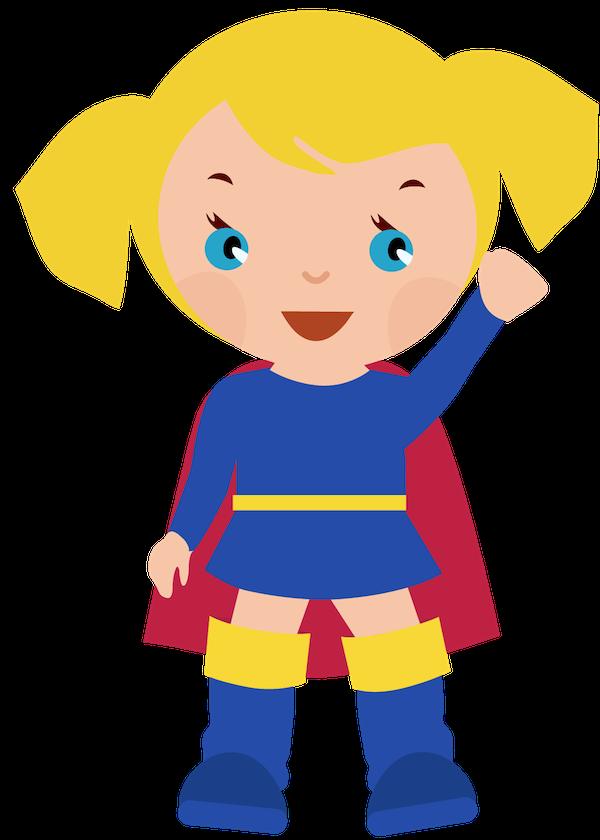 Female Superhero Clipart Clipart Clipart-Female superhero clipart clipart clipartcow-4