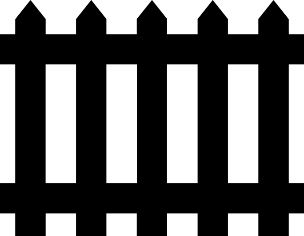 Fence clip art Free vector 10.70KB
