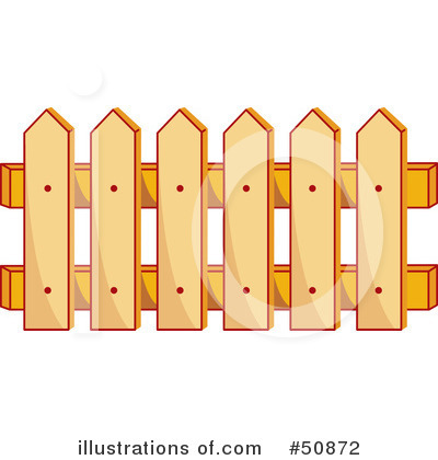 Fence Clipart 50872 Illustration By Cherie Reve