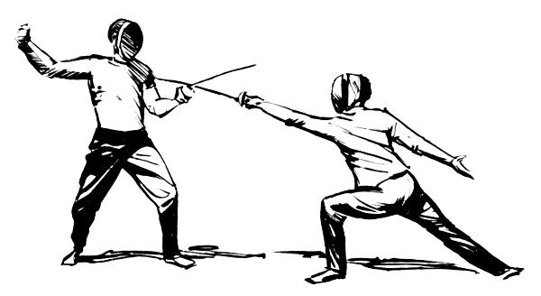 Fencing 20clipart-Fencing 20clipart-1
