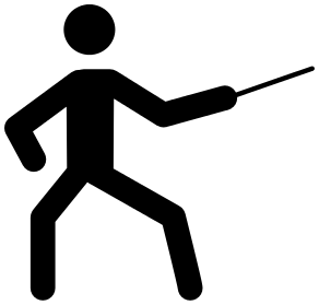 fencing clipart .