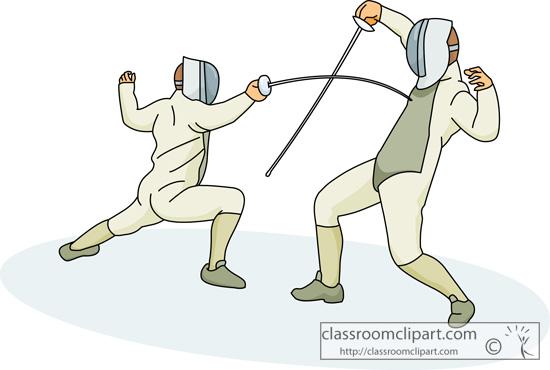 Fencing Clipart. fencing_sport_213_02.jp-Fencing Clipart. fencing_sport_213_02.jpg-3