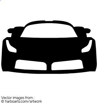 DOWNLOAD this vector Ferrari outline clipart for a few dollars (formats  available AI, EPS, PDF, SVG and JPG) and enjoy royalty-free commercial  usage rights ClipartLook.com