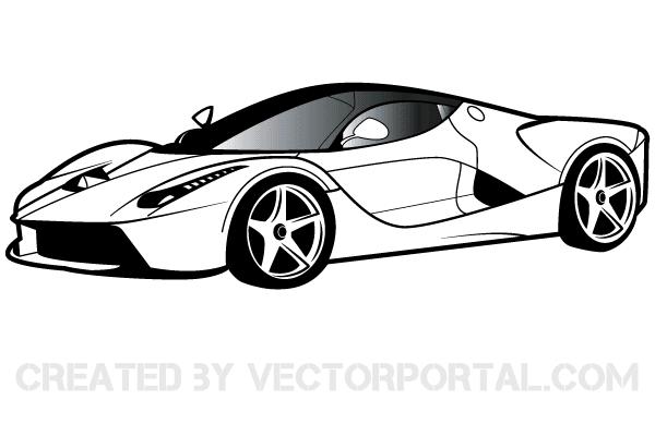 Ferrari Clipart Free