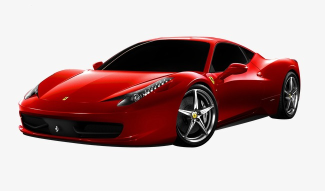 red ferrari sports car, Product Kind, Ferrari, Racing PNG Image and Clipart
