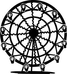 Ferris wheel 0 images about appetiers on clip art ferris