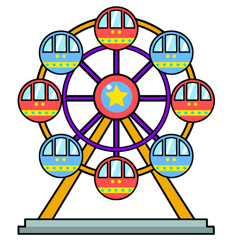Ferris Wheel Clip Art Images Free For Commercial Use
