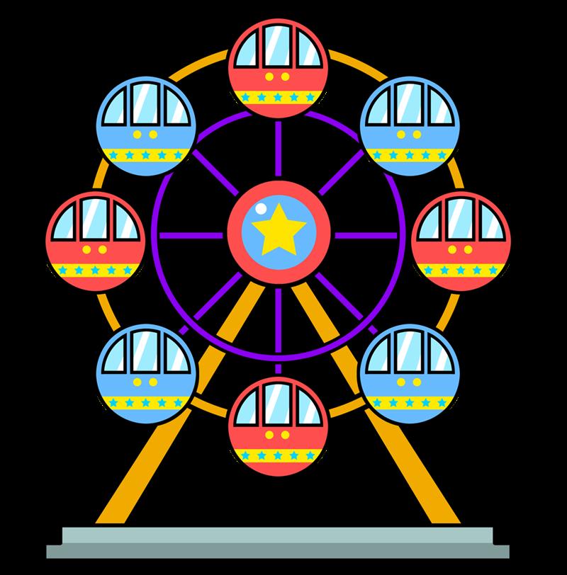 Ferris Wheel Clip Art Images  - Ferris Wheel Clipart