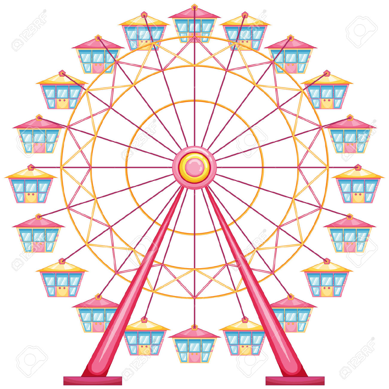 Ferris wheel clipart 2-Ferris wheel clipart 2-4