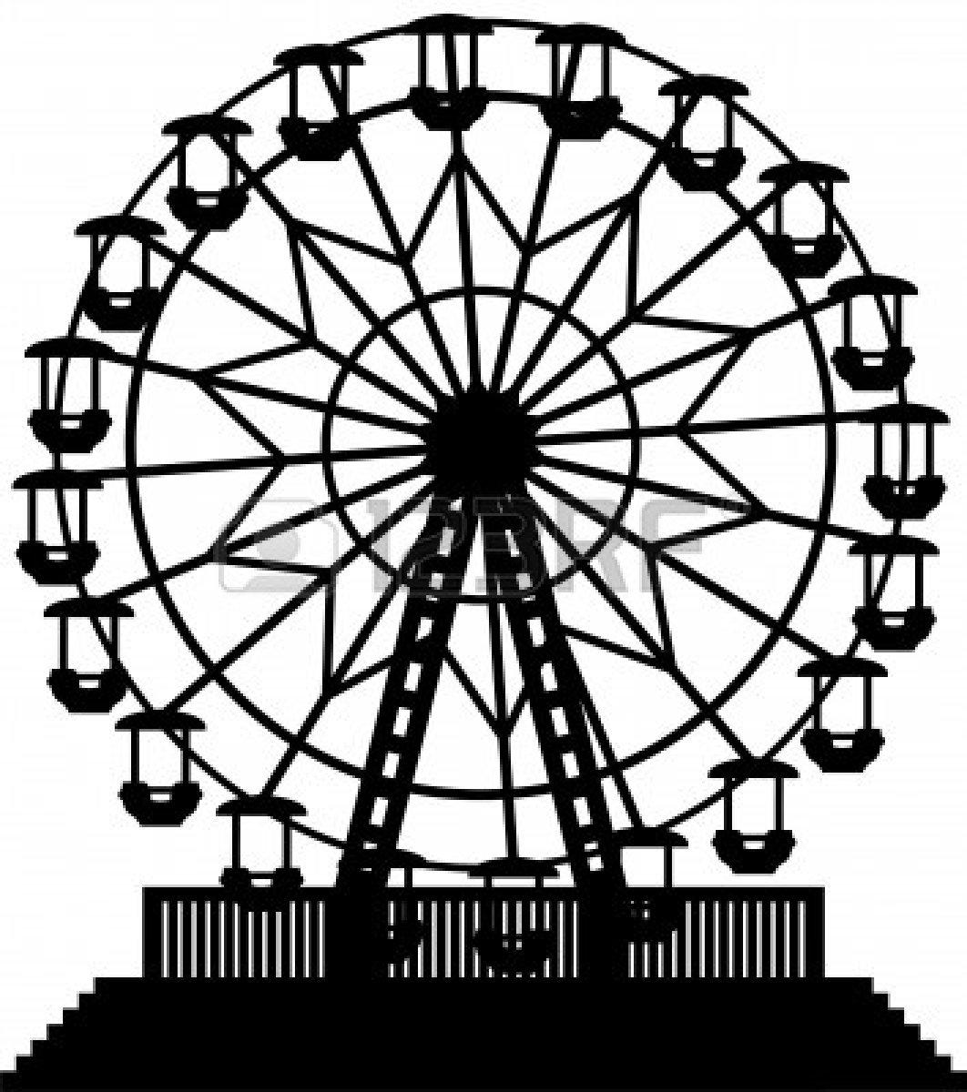 Ferris wheel clipart wheels and 2