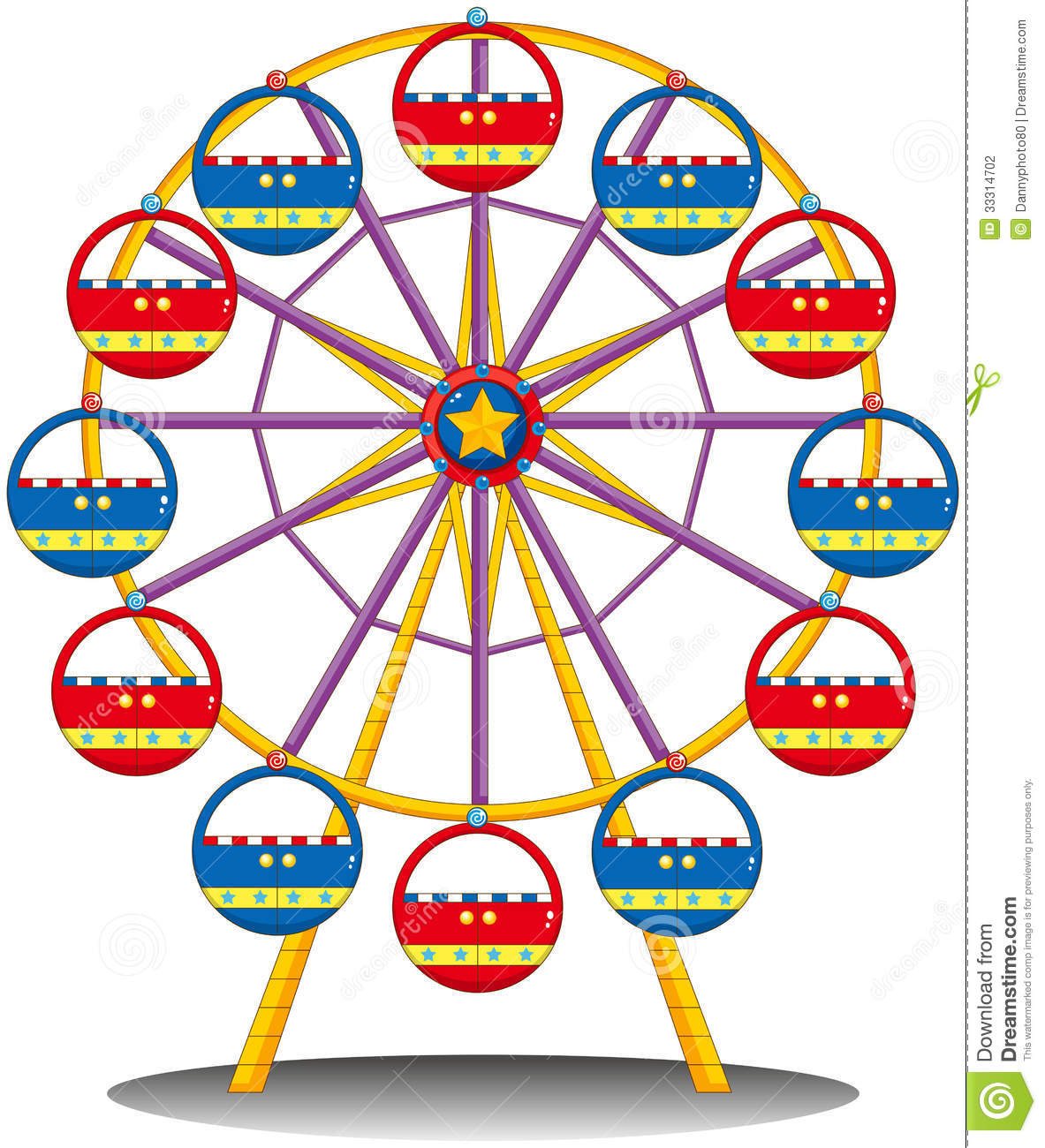 Ferris Wheel Stock Photograph - Ferris Wheel Clipart