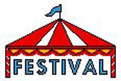 Festival Clip Art. Festival cliparts