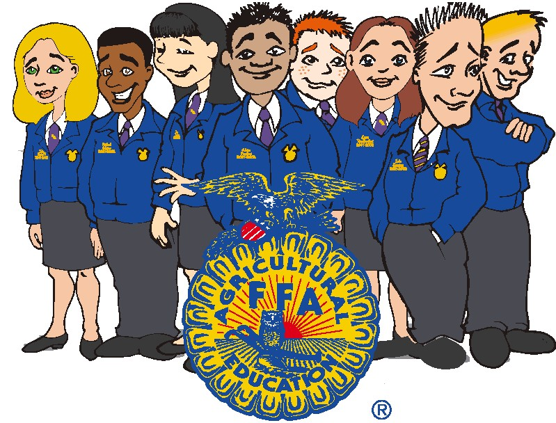 ffa clipart; officer group . - Ffa Clip Art
