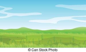 . ClipartLook.com An Empty Field Under A-. ClipartLook.com An empty field under a clear blue sky - Illustration of an.-2