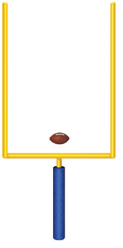 Field Goal Post clipart .