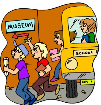 Field Trip School Bus Cartoon .