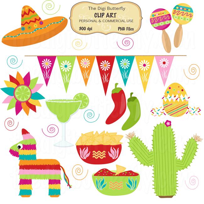 Fiesta Background Clipart Ole Fiesta Clip Art