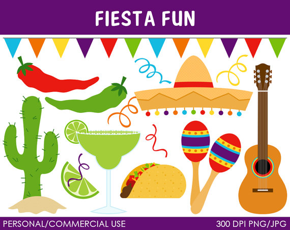 Fiesta Banner Clip Art Http Catchmyparty Com Vendors Product Fiesta