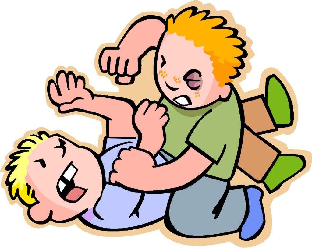 Fight Clipart aggressive child