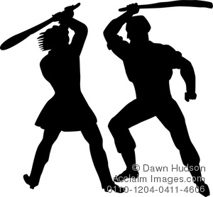Fighting Clipart