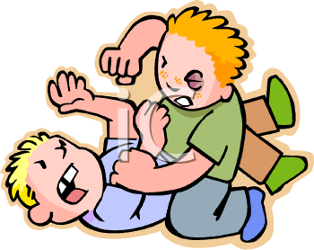 Boys Fighting Clipart #1-Boys Fighting Clipart #1-4