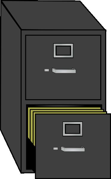File Cabinet Clip Art At Clker Com Vector Clip Art Online Royalty