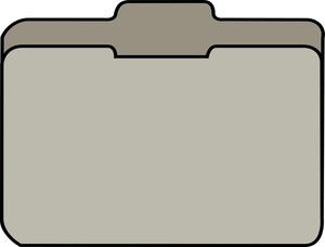 File Folder Clipart Image: .